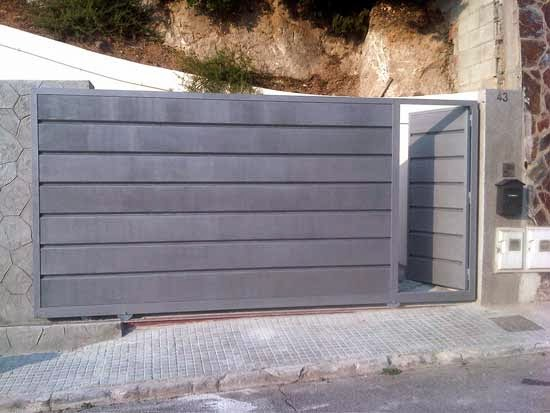 Puertas correderas autom ticas puertas automaticas innovatec for Puertas de garaje precios