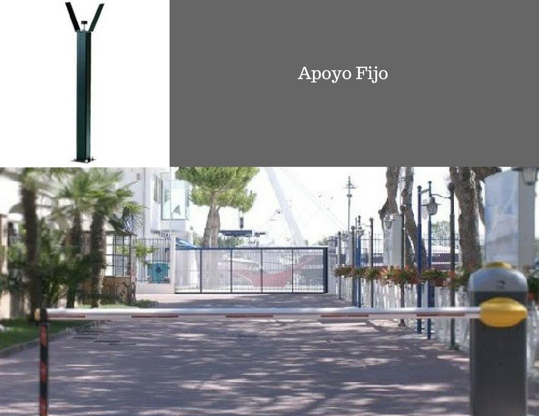 BARRERA AUTOMATICA APOYO FIJO